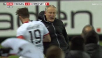 Soccer Player Briefly Loses His Mind, Body Checks Opposing Coach