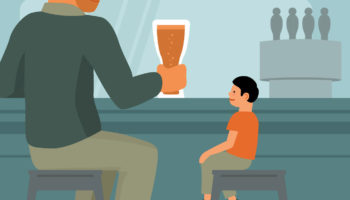 Ask A Cool Dad: Can I Bring My Kid To A Bar?