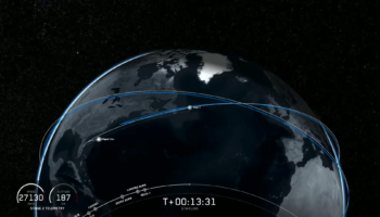 Watch SpaceX's Launch From This Morning Of 60 Starlink Satellites With A Thrice-Flown Falcon 9 Rocket