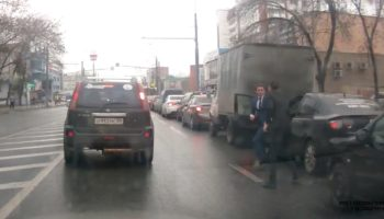 This Russian Road Rage Incident Has To Be Fake, Right?
