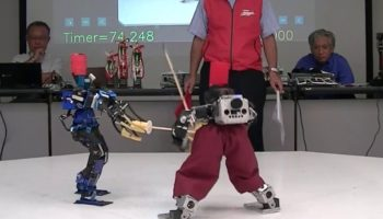 This Robot Samurai Fight Will Get You Excited About The Future Again