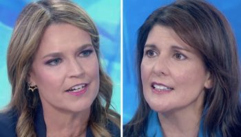 Watch Savannah Guthrie's Hard-Hitting Live Interview With Nikki Haley On Ukraine, Impeachment And Whether Donald Trump Is 'Truthful'