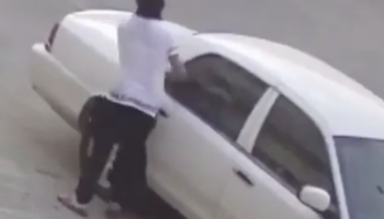 Man Lights Car On Fire. Things Don't End Well For Man