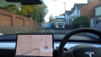 Tesla's Latest Software Can't See A Truck To Driver's Horror