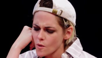 Kristen Stewart Gets A Little Overheated During 'Hot Ones' Interview