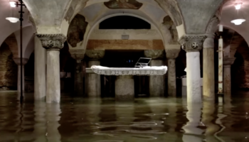 Step Inside This Flooded Crypt In Venice