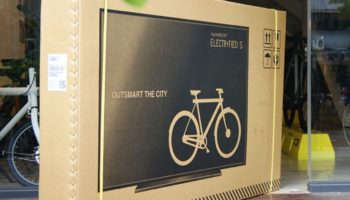 Why Bike Makers Are Shipping Their Bikes In Fake Flatscreen TV Boxes