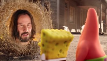 SpongeBob Leaves The Sea And Meets Keanu Reeves In The 'The SpongeBob Movie: Sponge On The Run' Trailer