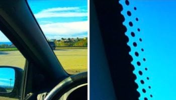 Why Do Car Windows Have Those Little Black Dots?