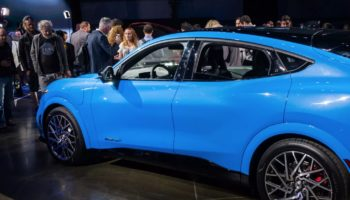 Up Close With Ford's Electric Mustang SUV, The Mach-E