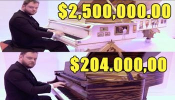 Pianist Goes Inside The Steinway Piano Vault And Demonstrates The Difference Between A $200,000 Piano And A $2,500,000 Piano