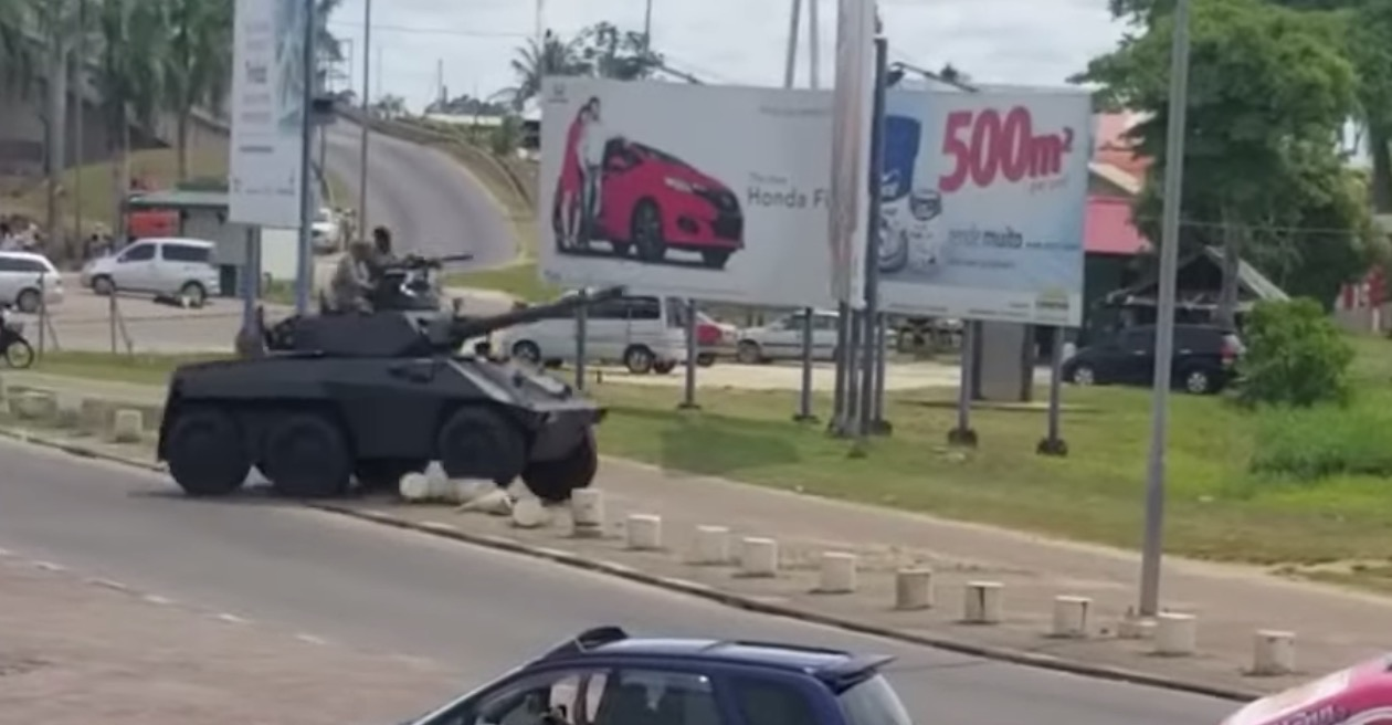 Military Armored Car Massively Misjudges Its Speed, Careens Into A House - Digg