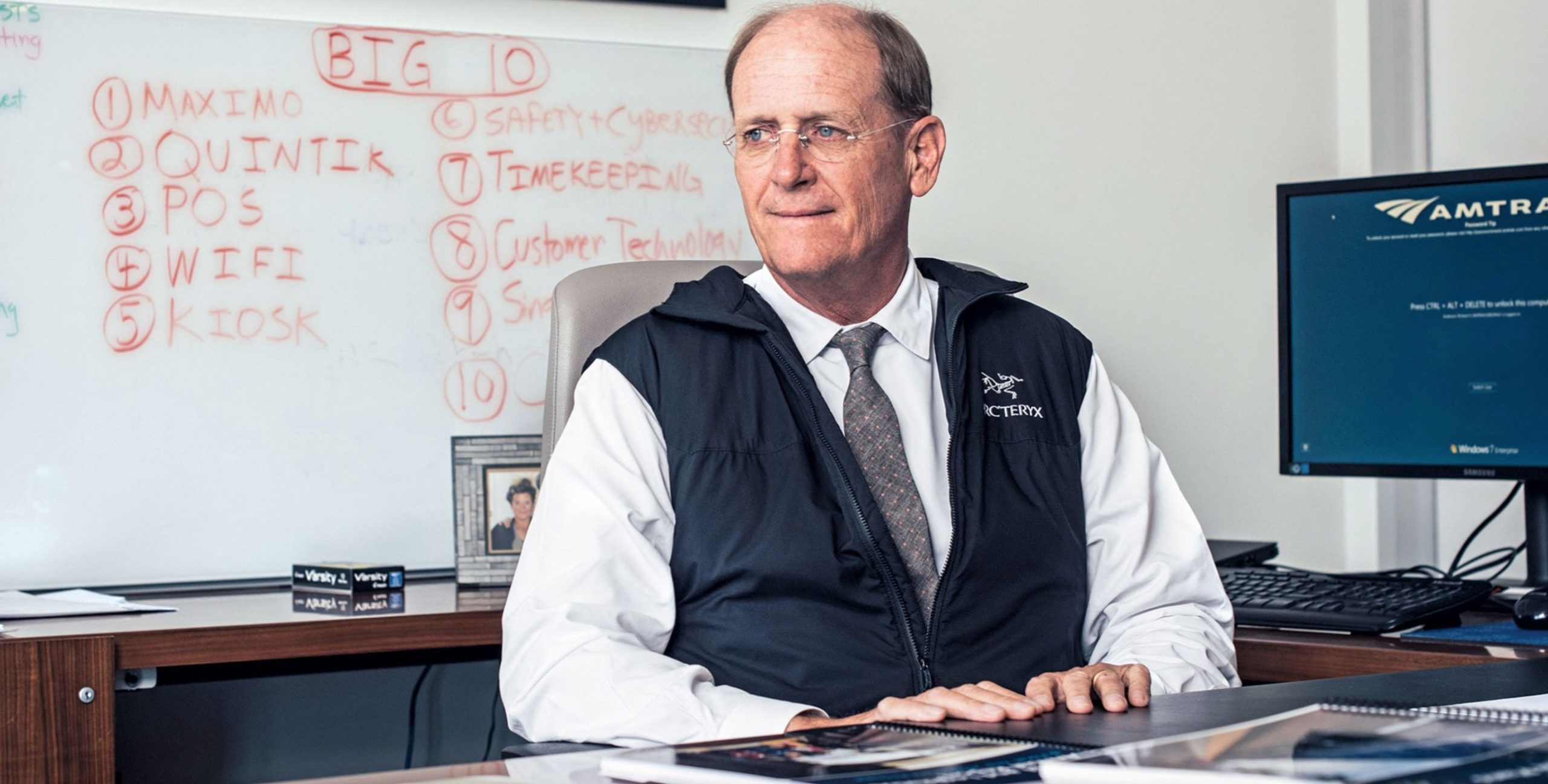 The CEO Of Amtrak Has A Plan For Profitability, And You Won't Like It