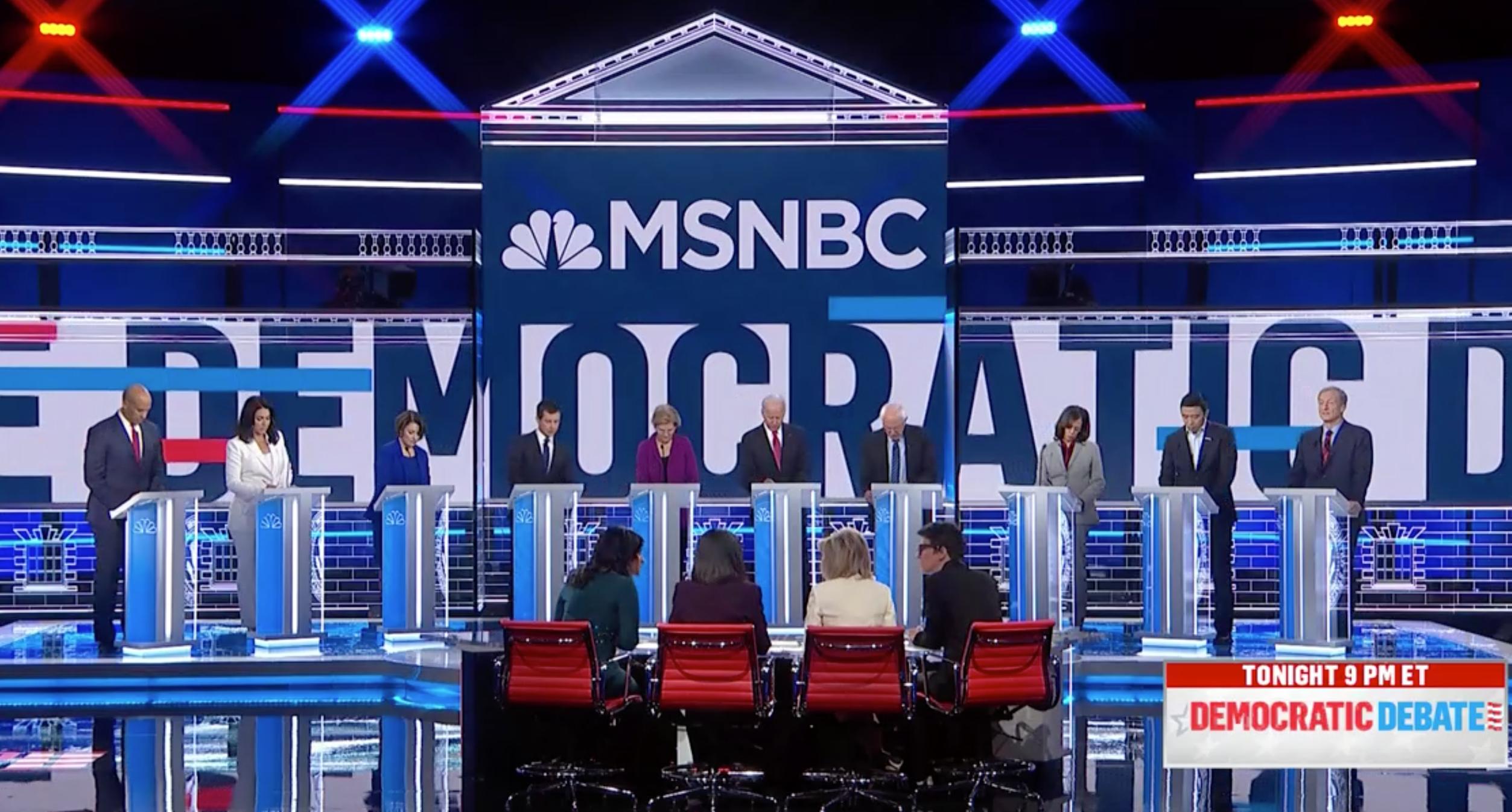 Live Updates On The Fifth Democratic debate