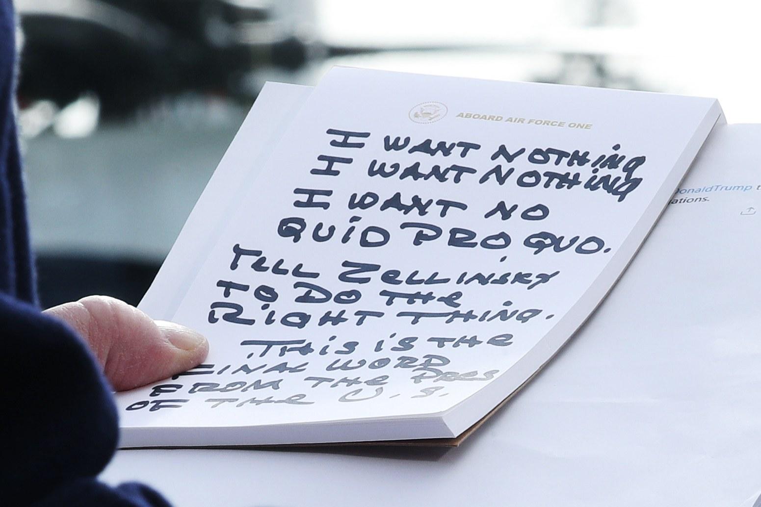 'Trump's Notes' Photographer Explains How He Got That Shot