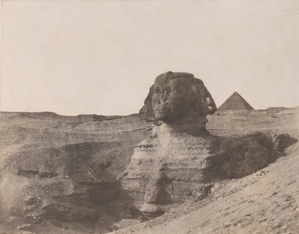 The Strange Emptiness Of Egypt In 19th-Century European Photographs