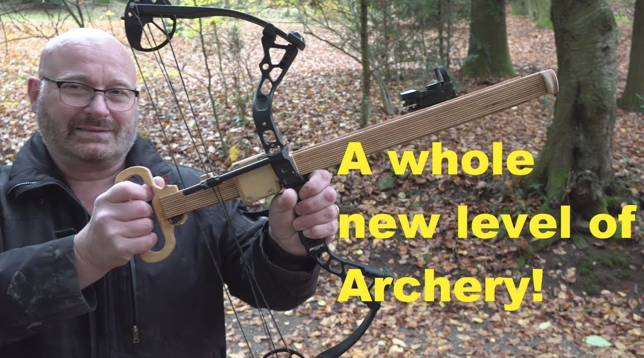 This Archery Genius Invented A Repeating Bow And Has The Time Of His Life Showing It Off