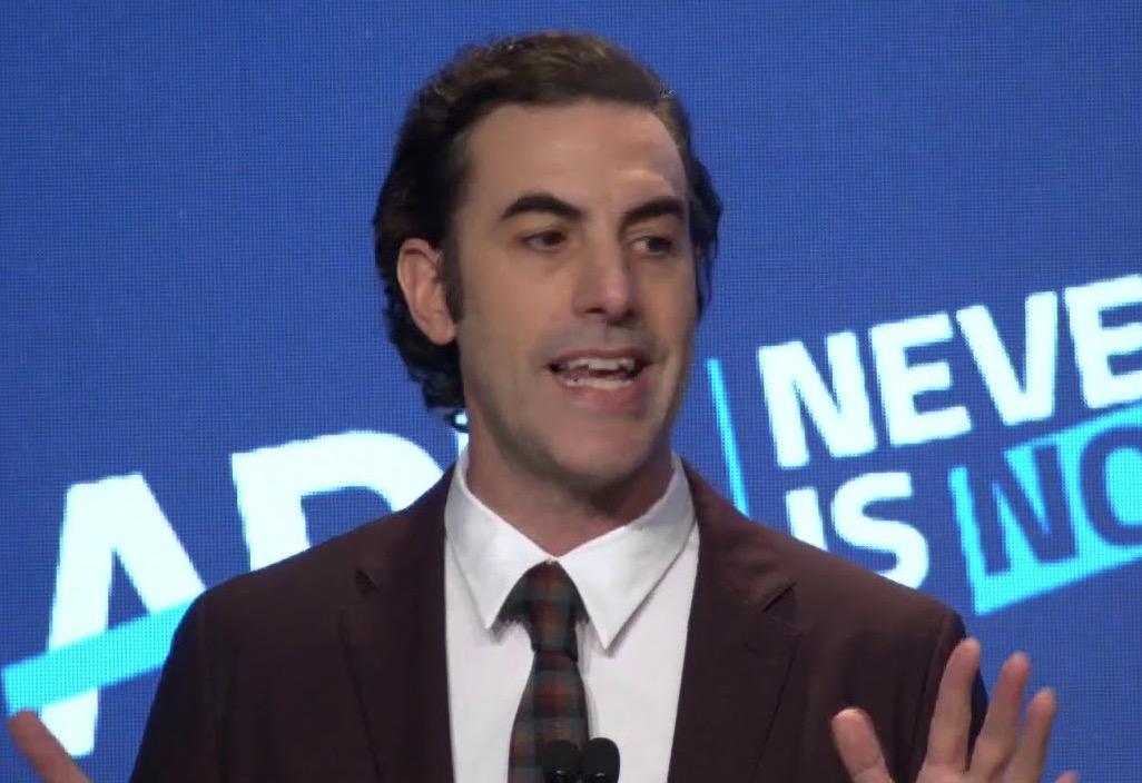Sacha Baron Cohen Breaks From His Comic Persona To Slam Mark Zuckerberg's 'Bullsh*t' Arguments About Free Speech