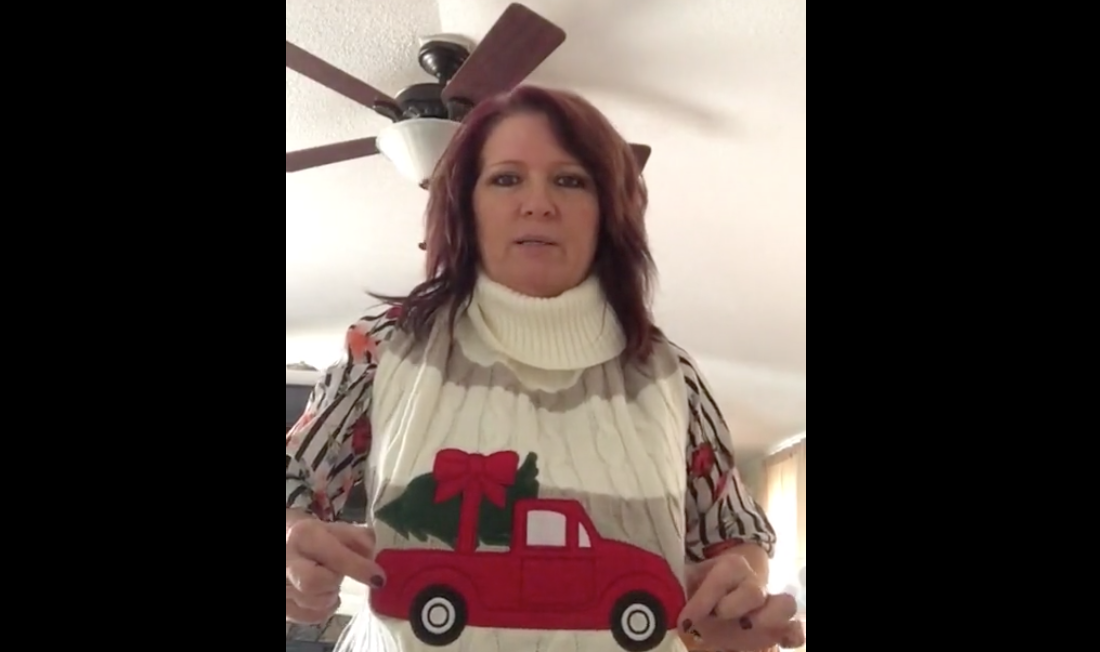 Husband Buys Wife A Cheap Sweater He Thinks She'll Like. Turns Out It's A Dog Sweater