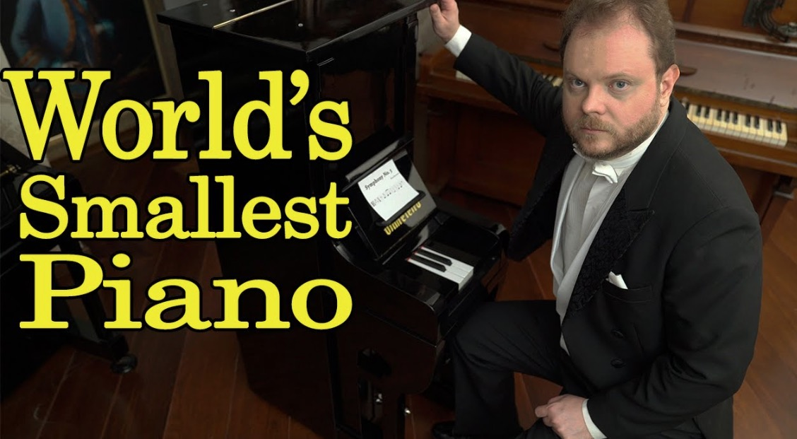 What The World's Smallest Piano Sounds Like