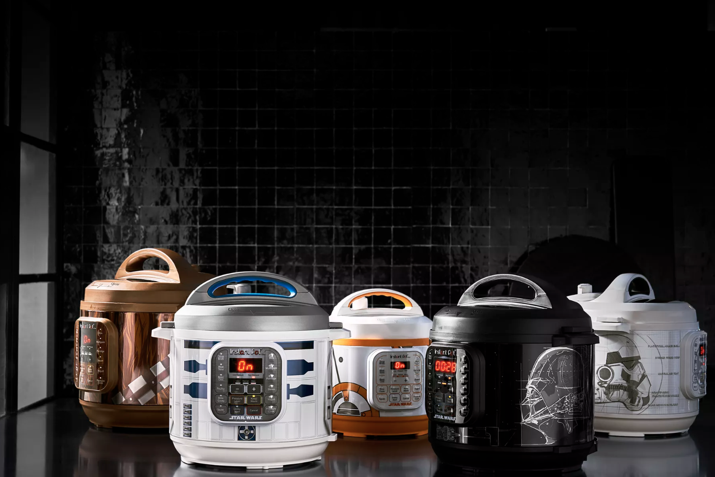 A New Instant Pot Gets Us Closer To An Entire 'Star Wars' Kitchen