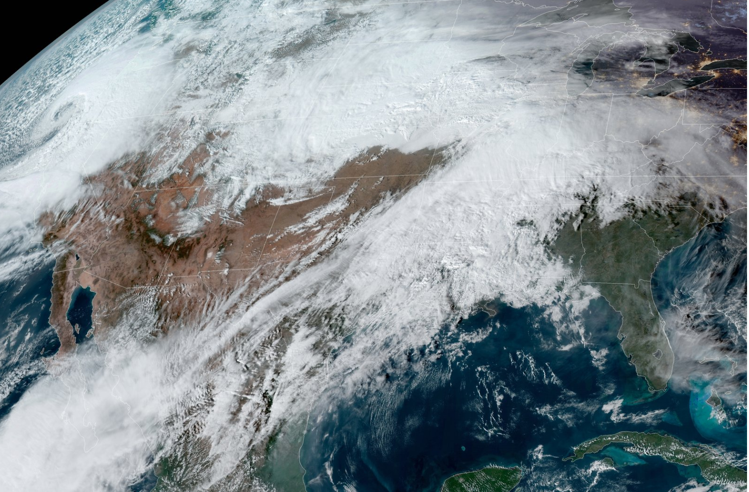 'Bomb Cyclone' Winter Storm Will Hit US As Thanksgiving Nears, Forecasters Warn