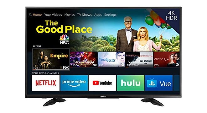Early Black Friday: 43-Inch Toshiba 4K Smart TV For Just $230
