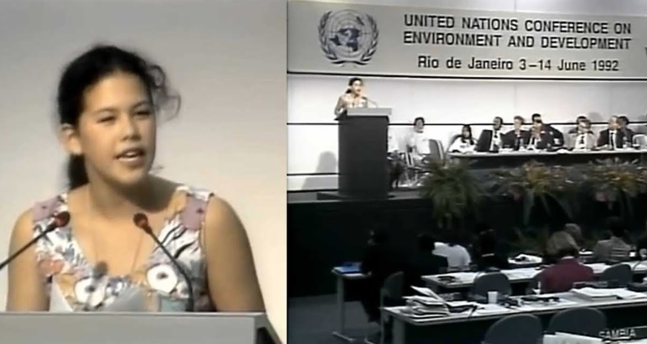 Before Greta Thunberg Spoke About Saving The Planet, There Was Severn Suzuki At The Rio Summit In 1992