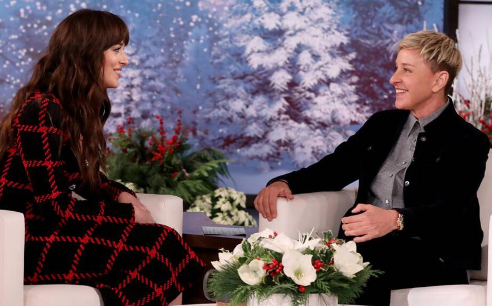 This Dakota Johnson Interview With Ellen DeGeneres Is So Delightfully Awkward