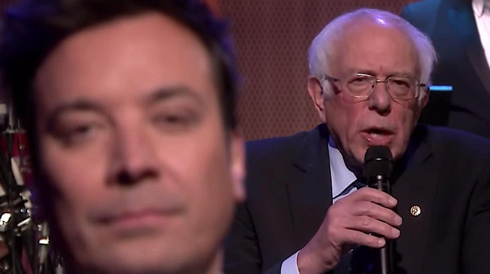 Bernie Sanders Slow Jams The News With Jimmy Fallon