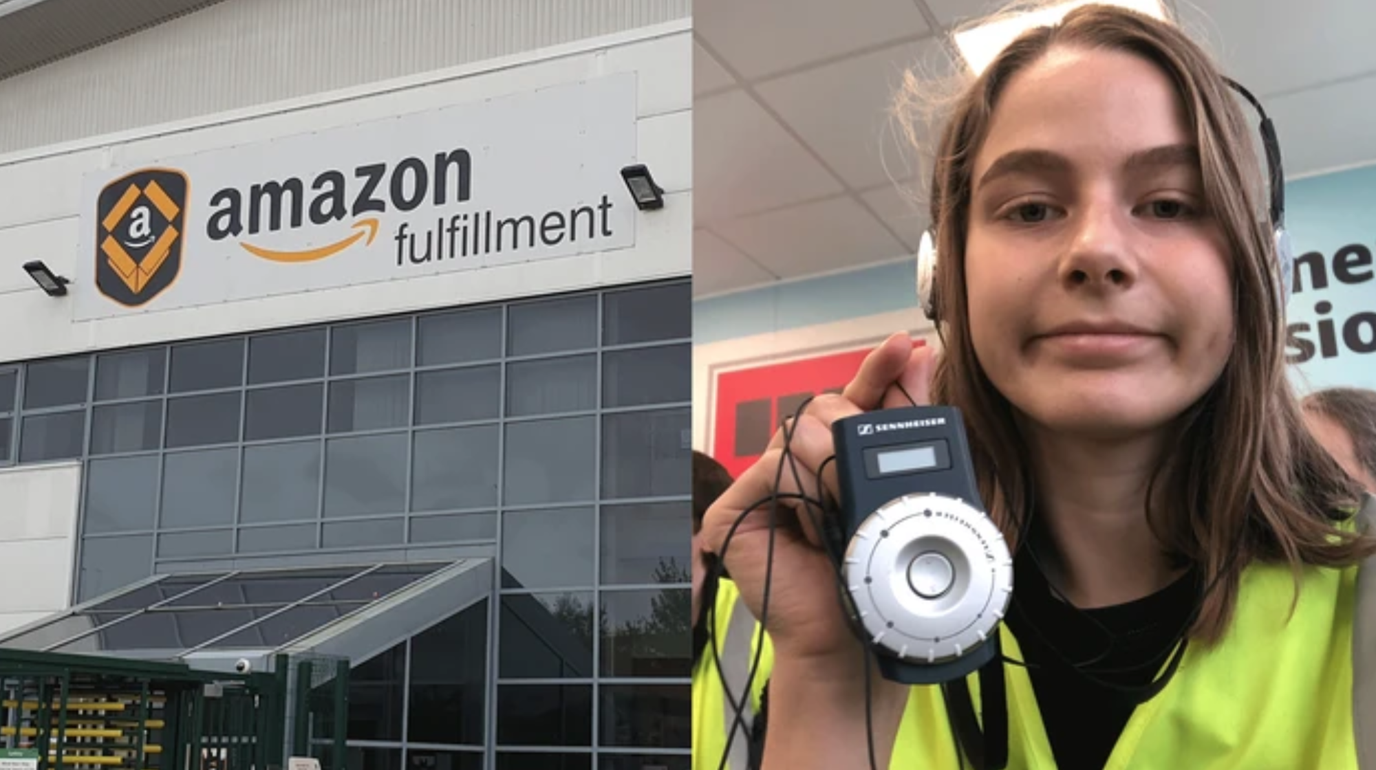 I Went On A Propaganda Tour Of An Amazon Warehouse