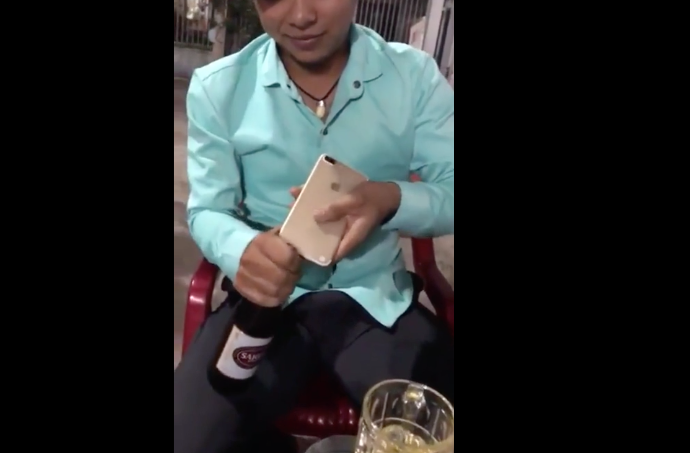 Guy Uses iPhone As Bottle Opener, Immediately Regrets His Decision
