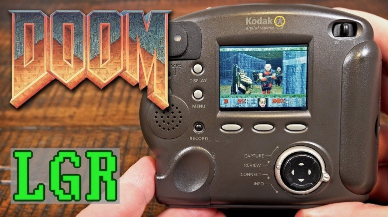 Guy Figures Out A Way To Get 'Doom' To Play On A 1998 Digital Camera