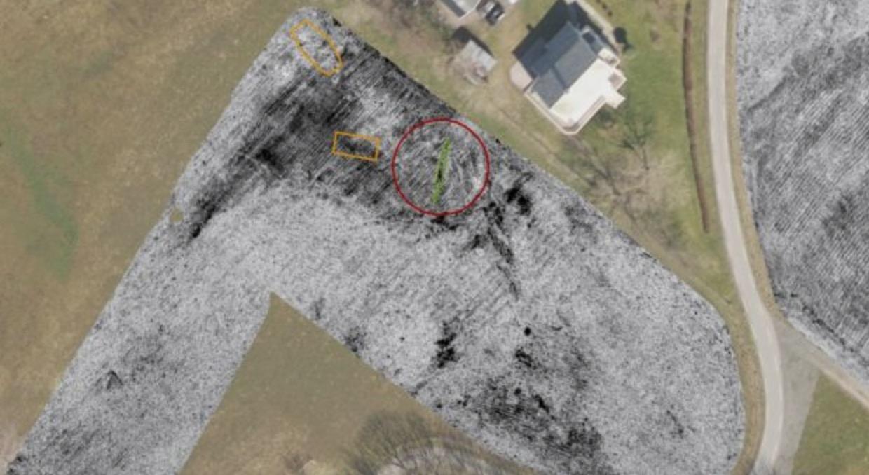 Aerial Radar Turns Up A Viking Ship In A Farmer's Field