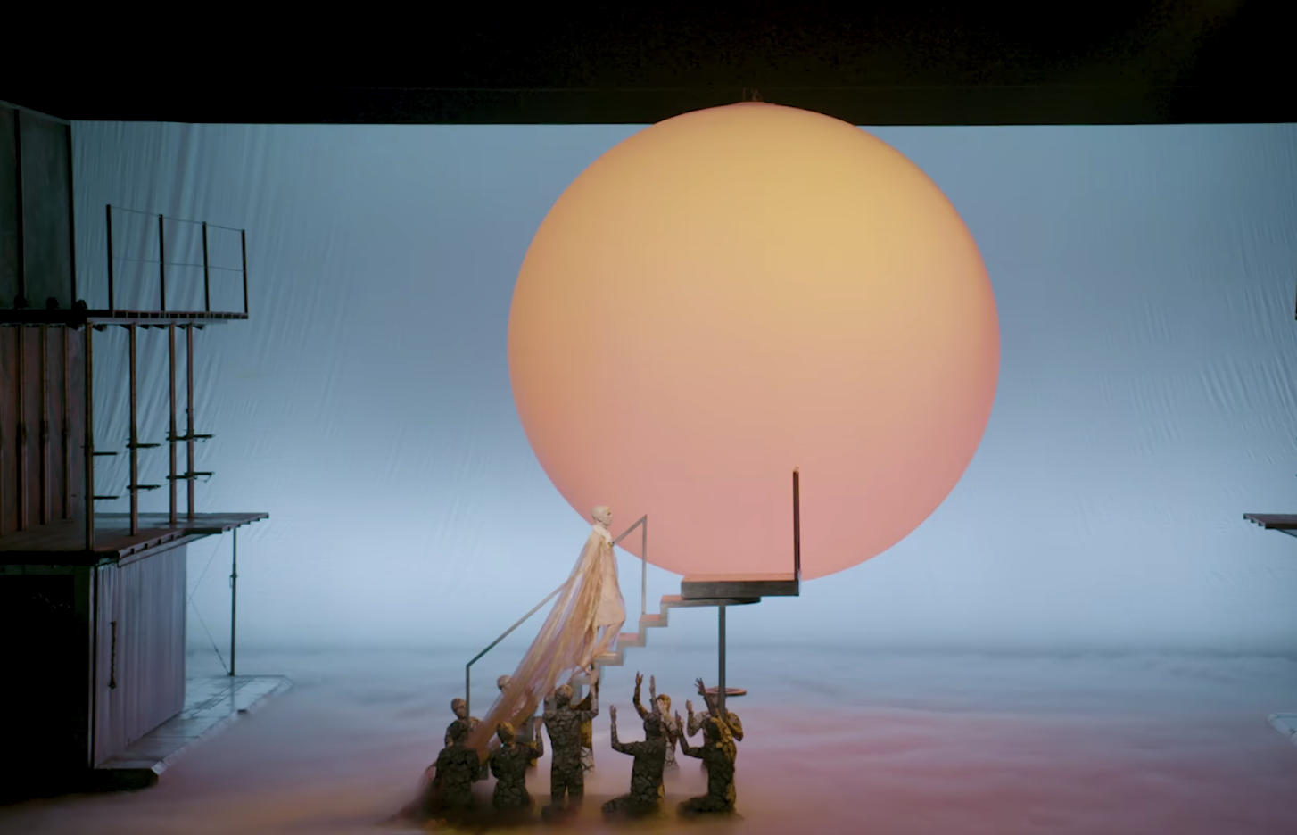 Any Opera Is A Feat To Put On, But This One Has Four Languages, A Giant Sun And A Costume Made Of Baby Heads