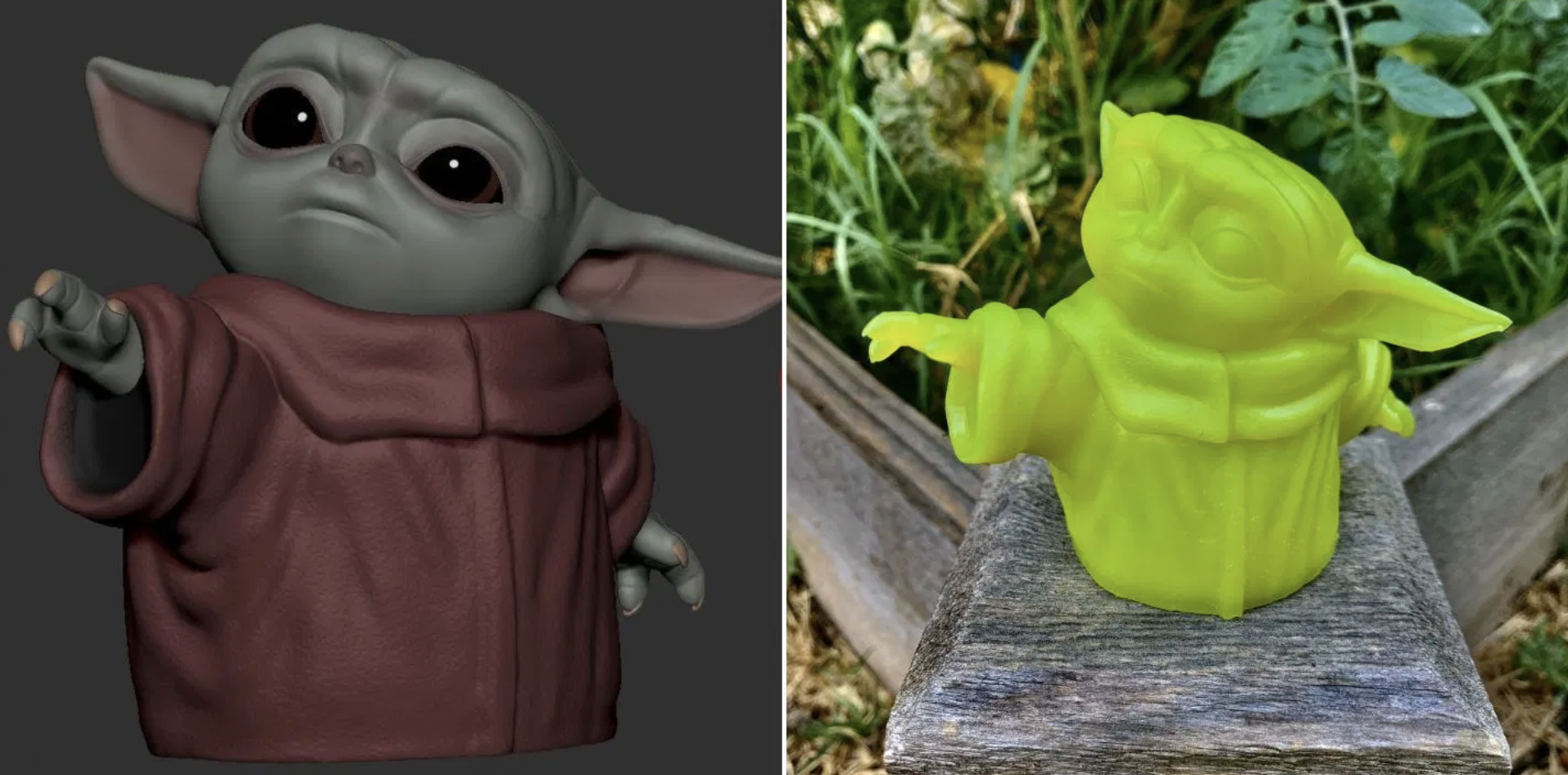 You Can Now 3D-Print Your Own Baby Yoda