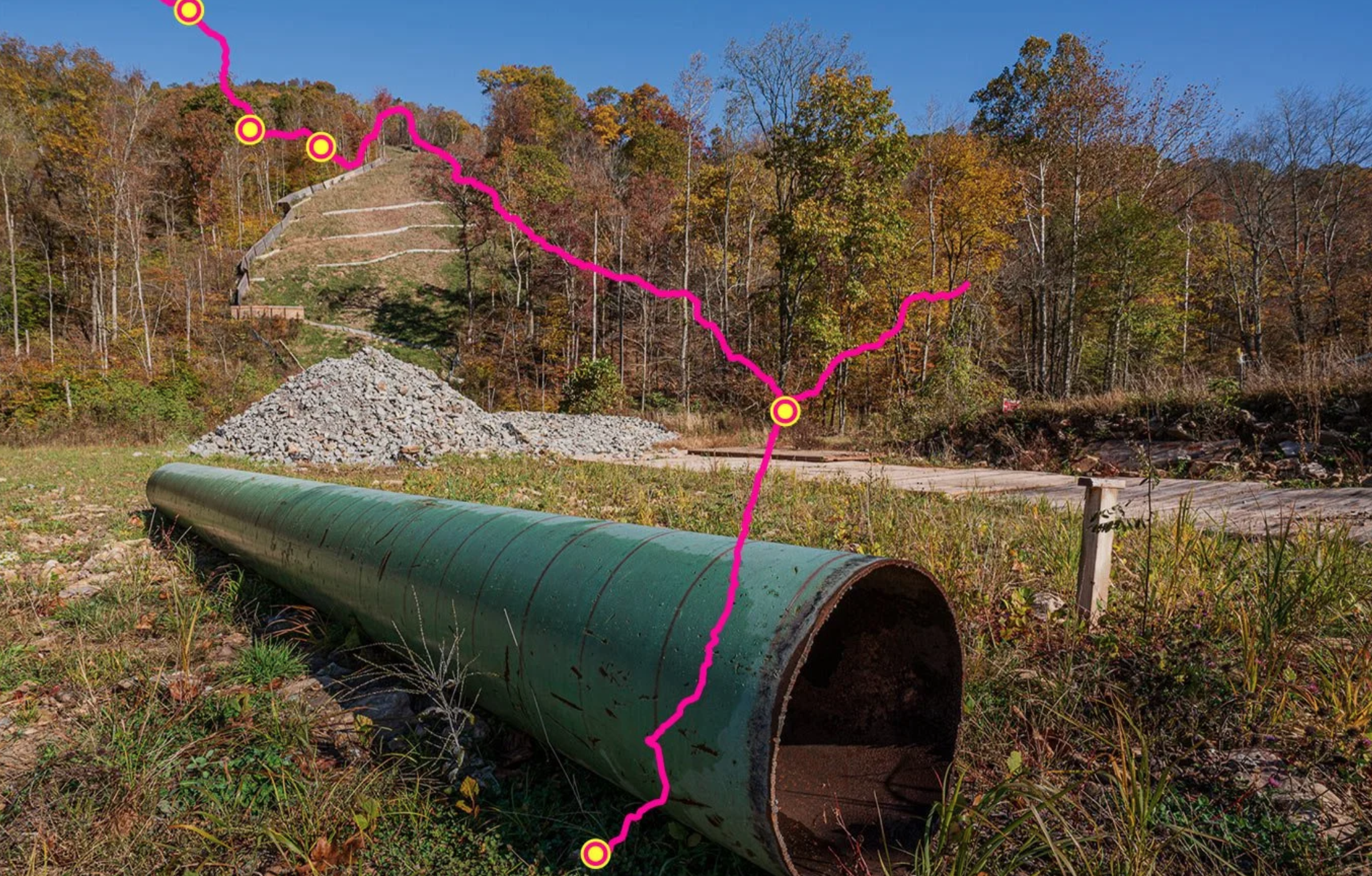 Tracing The Path Of The Proposed 600-Mile Atlantic Coast Pipeline