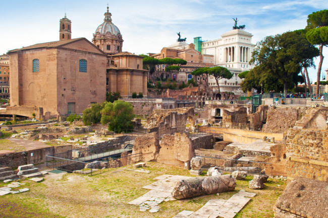Ancient Romans Got Their Wood From As Far Away As France, Study Finds