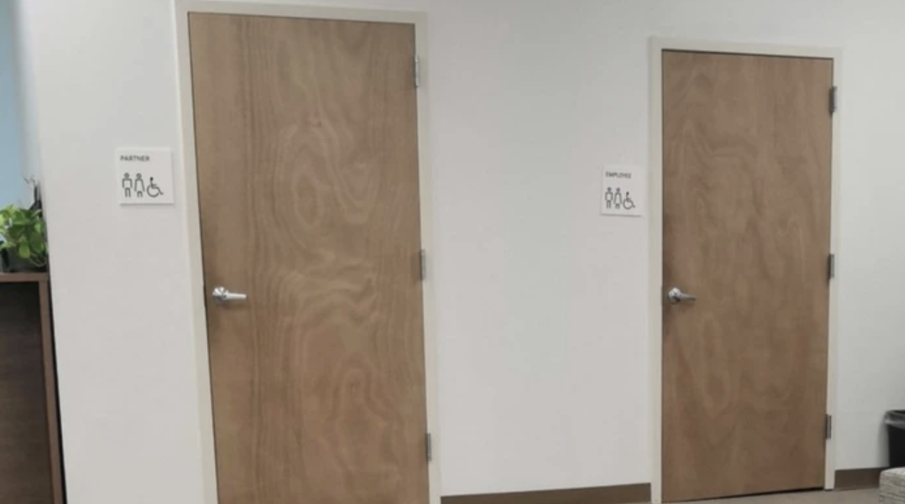 Uber Office Had Separate Bathrooms For Drivers And 'Employees'