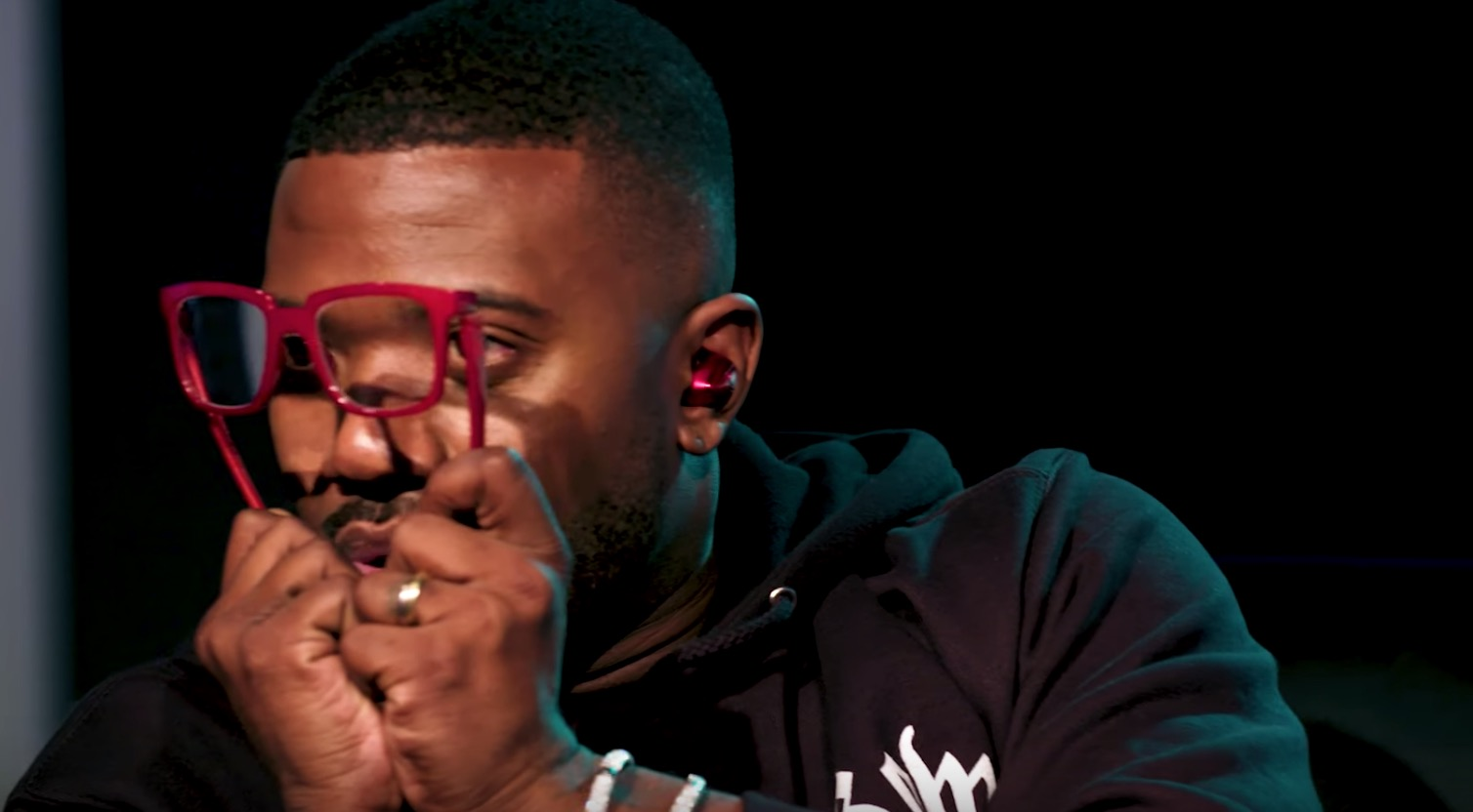 Rapper Insists To Interviewer That His Branded Glasses Are Unbreakable, And, Well, You Can See Where This Is Going