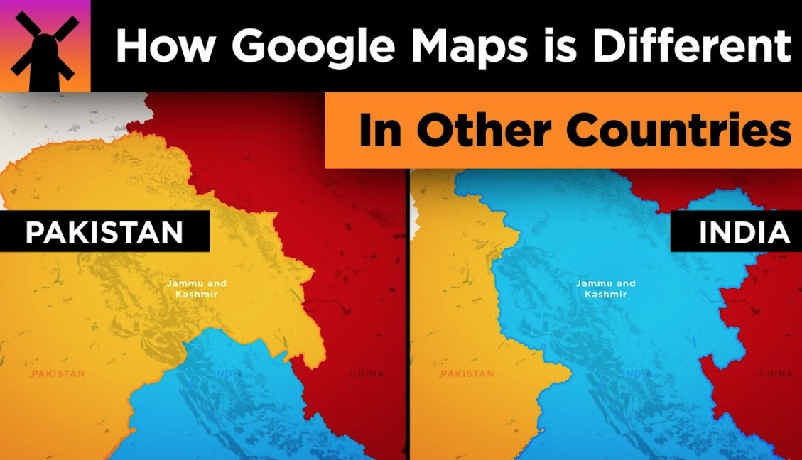How Google Maps Looks Differently In Other Countries