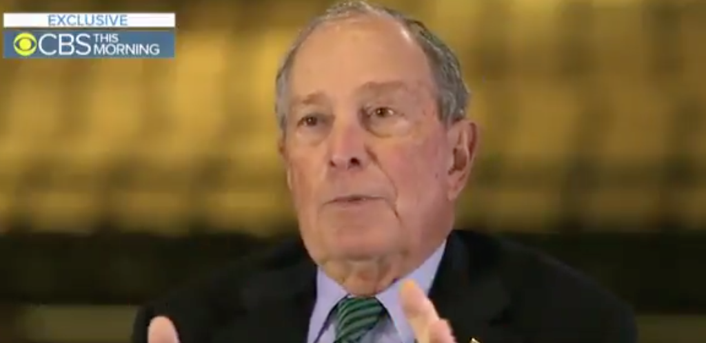 Mike Bloomberg Dismissively Responds To Question About The Diversity Of Presidential Candidates: 'Don't Complain To Me That You're Not In The Race'