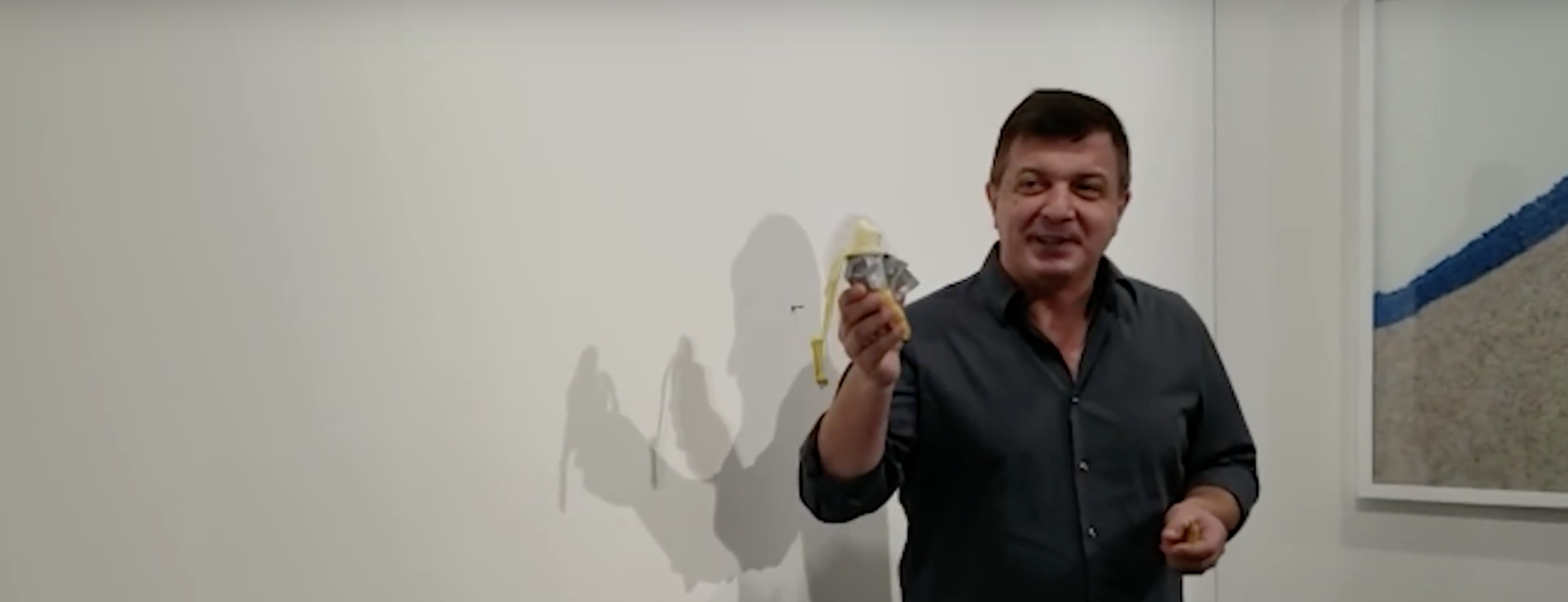 Art Basel Had A $150K Banana 'Art Installation' Duct-Taped To A Wall. A Guy Just Ate It