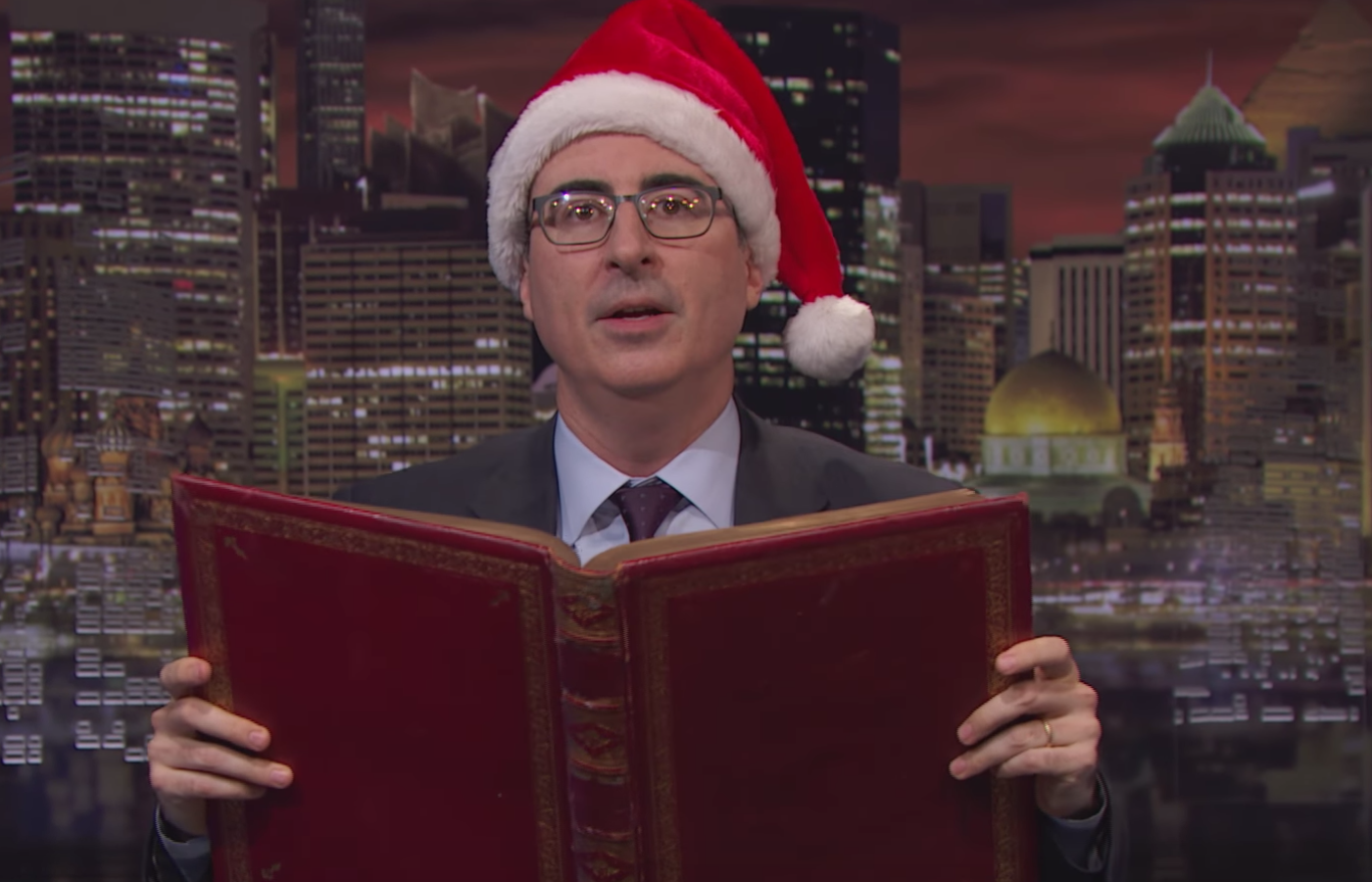 John Oliver On Why SantaCon Is The Worst Christmas Tradition Ever
