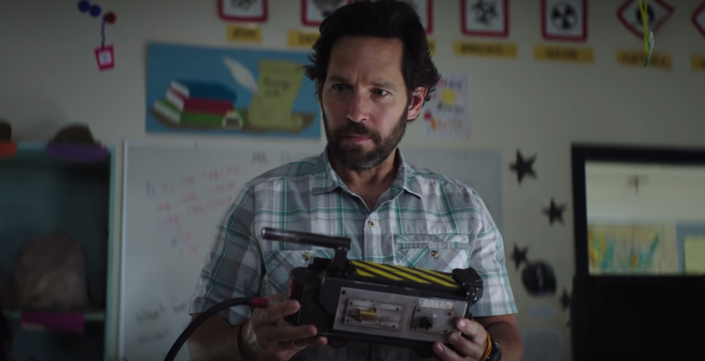 Paul Rudd And Some Teens Fight Ghosts In The First 'Ghostbusters: Afterlife' Trailer