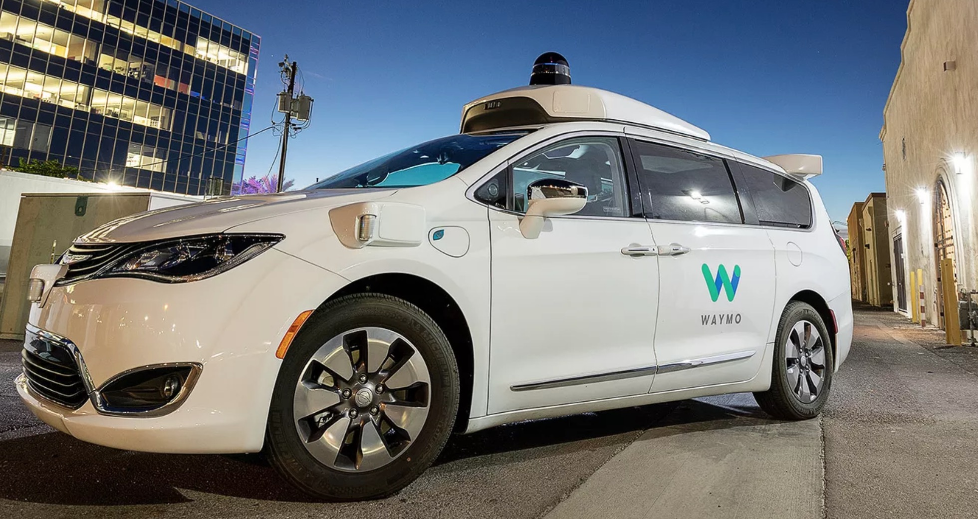 What It's Like Riding In One Of Waymo's Fully Self-Driving Taxis