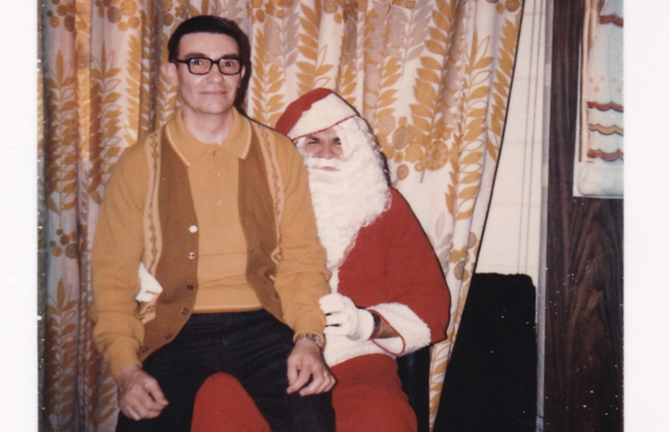 You Better Watch Out! A Tour Through Some Extremely Creepy Vintage Santa Photos
