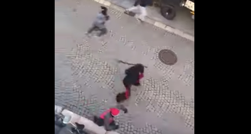 Krampus Parade In Italy Takes A Wild Turn As Masked Participants Start Beating Up Bystanders