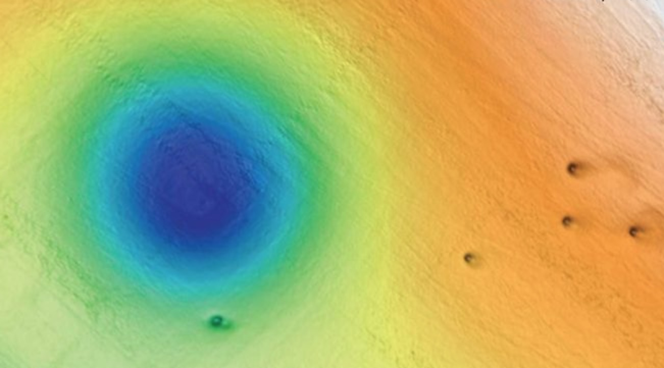 What's Creating Thousands Of Craters Off The California Coast?