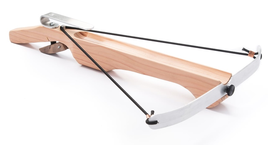 This Crossbow Lets You Bullseye Targets From 60 Feet With Marshmallows